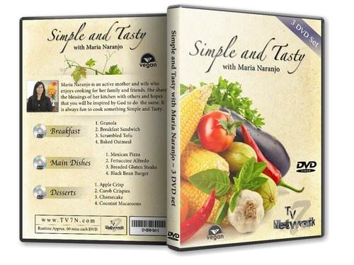 Simple and Tasty - 3 DVD Set  (2)